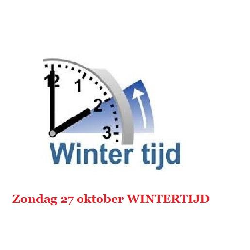 Herfstvakantie en Wintertijd