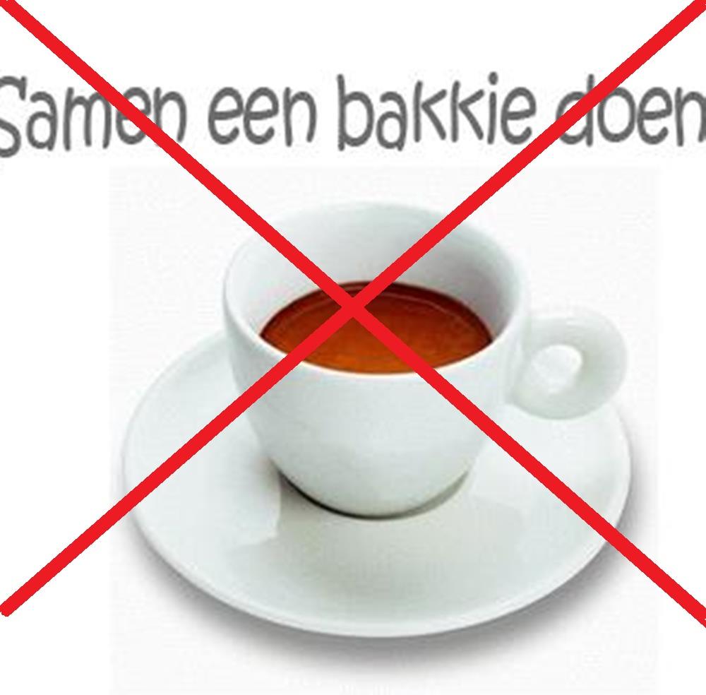 Geen Koffieochtend….